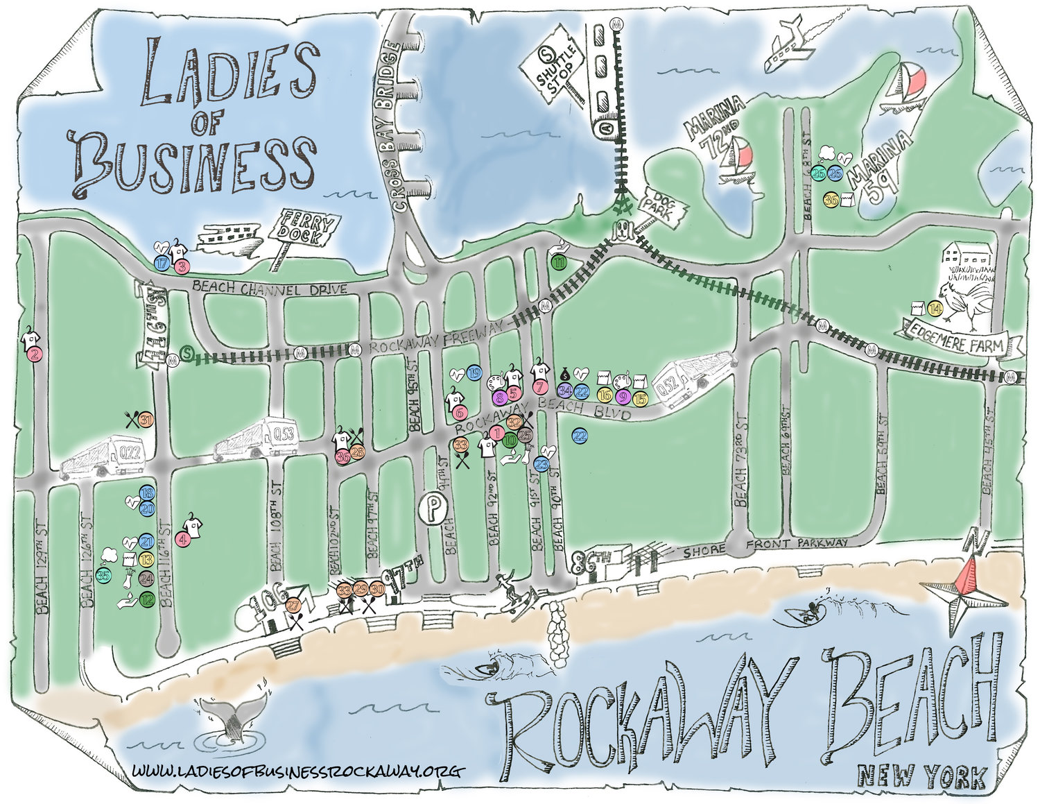 Ladies of Business Rockaway