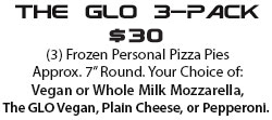 The plain Cheese                                                 pizza or pepperoni pizza                                                 3-pack frozen pizza