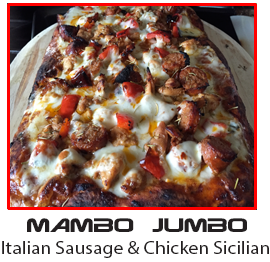 The Mambo Jumbo                                                 inspired by Sho Nuff'                                                 Mumbo Jumbo from the                                                 Last Dragon